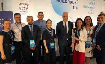 Armenia receive the EITI Chair's Awards