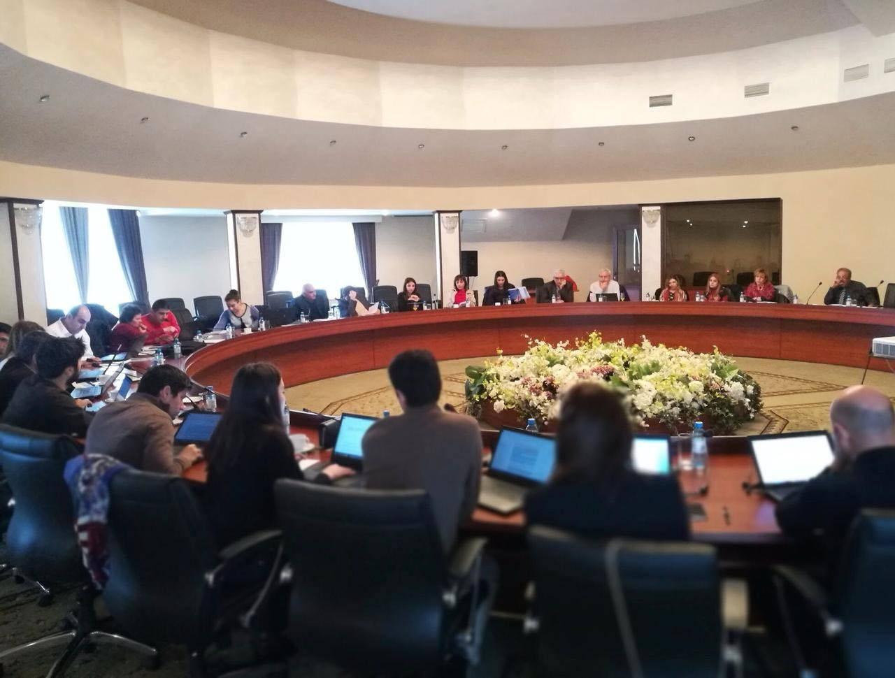 Աշխատաժողով «Շահագրգիռ կողմերի հանդիպում ԱՃԹՆ-ի զեկույցի նախագծի և 2019 թվականի ԱՃԹՆ-ի աշխատանքների շուրջ» խորագրով
