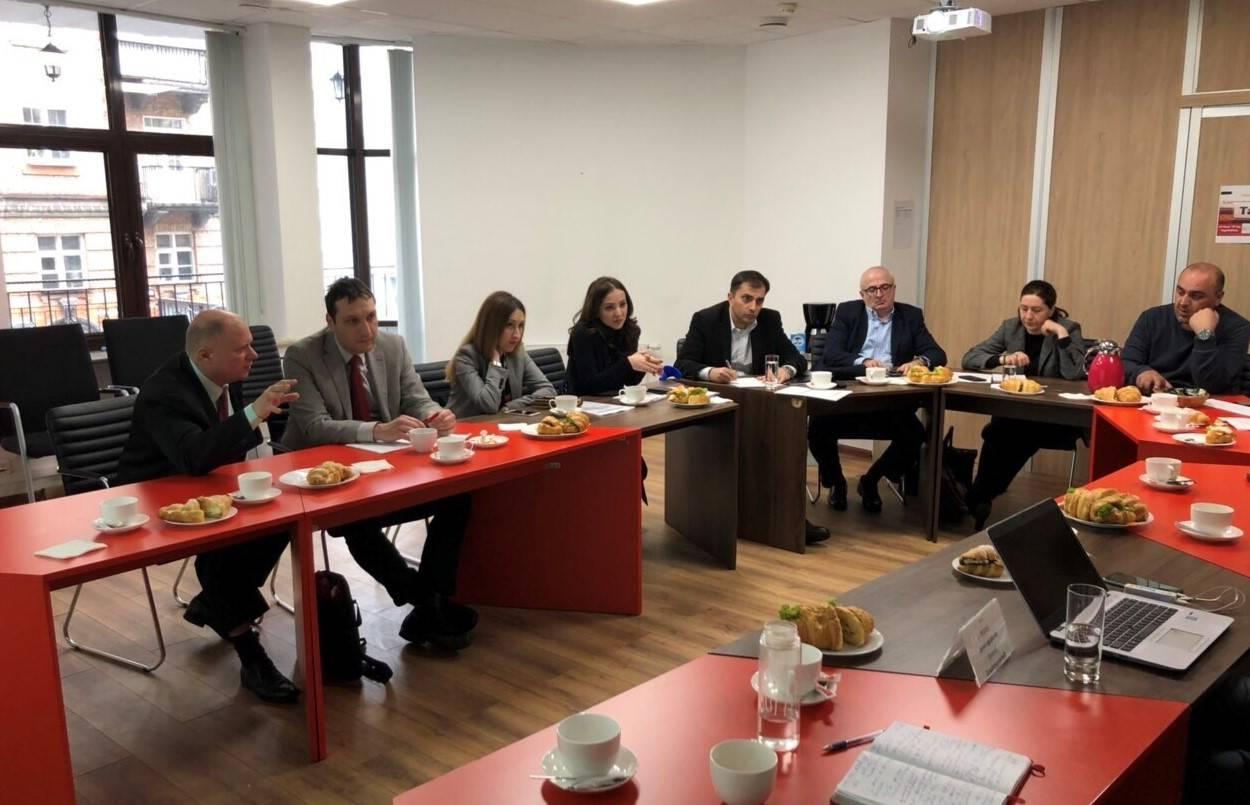 ԱՃԹՆ ներկայացուցիչները հանդիպել են Վրաստանի և Ուկրաինայի ներկայացուցիչներին