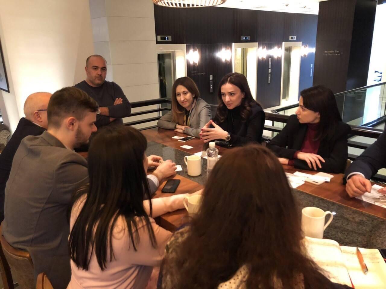 ԱՃԹՆ քարտուղարության ներկայացուցիչները հանդիպել են Ուկրաինայի գործարար համայնքի ներկայացուցիչների հետ