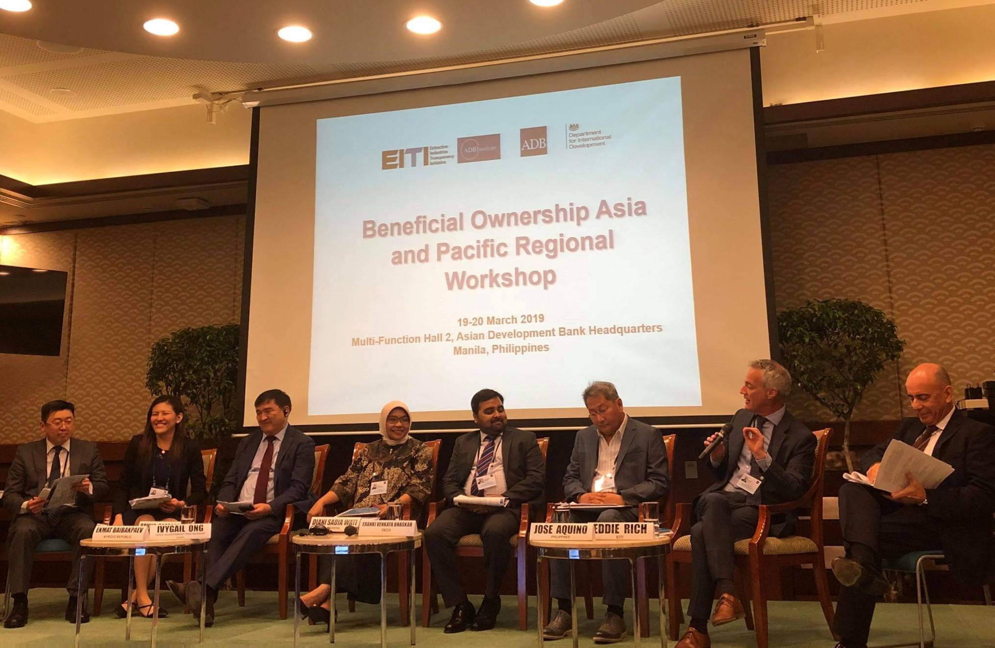 "Workshop ""Beneficial Ownership in the Asia and Pacific Region"" was held in Manila"