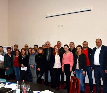 Training on the Mining Fiscal Regime in Armenia and EITI Requirements of Financial Flows' Transparency held on March 6-8, 2020 in Dilijan
